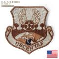 ★カートで18%OFF割引対象★【ネコポス便対応】新品 米軍 U.S.AIR FORCE USCENTAF(アメリカ中央空軍) ベルクロパッチ / ワッペン ミリタリーファッション