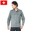☆只今20%OFF割引中☆【即日出荷対応】実物 スイス軍 前期型 デニムワークジャケット USED