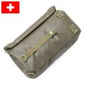 実物 スイス軍 ガスマスクバッグ USED