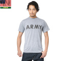 ☆複数点割引☆【ネコポス便対応】実物 米軍IPFU ARMY Tシャツ バックプリント入り USED