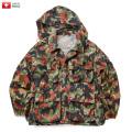 実物 スイス軍 M1960 マウンテンジャケット アルペンカモフラージュ USED ミリタリーファッション 軍服 迷彩服【キャンペーン対象外】
