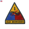 ☆ただいま20%割引中☆【ネコポス便対応】新品 米軍 U.S.ARMY 第一機甲師団パッチ(ワッペン) OLD IRONSIDES オールド アイアンサイズ 米陸軍 第1機甲師団 ミリタリー