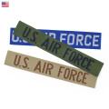 【ネコポス便対応】新品 米軍 U.S.AIR FORCE ネーム タブ パッチ ワッペン