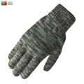 【ネコポス便対応】実物 新品 ポルトガル軍 リザードカモフラージュ ウール ニットグローブ 手袋【Sx】