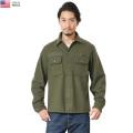 ☆只今20%OFF割引中☆実物 USED 米軍 ヴィンテージ ウールシャツジャケット #2