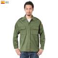 【即日出荷対応】実物 USED スペイン軍 ARMY コンバット フィールドシャツ