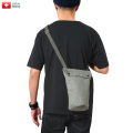 【即日出荷対応】実物 USED スイス軍 ソルト&ペッパー ガスマスク ショルダーバッグ【Sx】