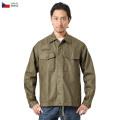 【即日出荷対応】実物 新品 チェコ軍 フライフロント ワークシャツ ミリタリーファッション 服 軍放出品