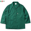 ★カートで最大15%OFF割引★実物 新品 イタリア軍 SECURITY ワークジャケット 3ポケット GREEN【Sx】 ミリタリーファッション 軍服 軍放出品