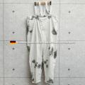 実物 USED ドイツ軍 スノーカモ オーバーパンツ サスペンダー付き(キャンペーン対象外) 軍服 ミリタリーファッション 軍パン