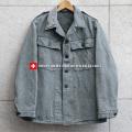 【即日出荷対応】実物 USED スイス軍 後期型 デニムワークジャケット(キャンペーン対象外) 軍服 ミリタリージャケット