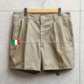 実物 USED イタリア軍 AMI チノショートパンツ【キャンペーン対象外】 軍パン 軍服 ミリタリーパンツ