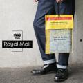 【即日出荷対応】【ネコポス便対応】実物 USED イギリス ROYAL MAIL PVC イエロー エンベロープ バッグ(キャンペーン対象外)