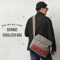 ▽新品 Slow Stone スローストーン スイス軍 ウールブランケット リメイク ショルダーバッグ(キャンペーン対象外)ミリタリーファッション