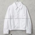 実物 新品 デッドストック イタリア軍 ショートワークジャケット ホワイト【キャンペーン対象外】