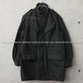 【即日出荷対応】実物 USED ベルギー軍 M-64 フィールドジャケット スタンドカラー SEYNTEX社製 BLACK染め【キャンペーン対象外】
