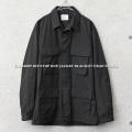 ▽希少サイズ 実物 新品 米軍 ブラック リップストップジャケット BLACK357【キャンペーン対象外】 軍服 ミリタリーファッション