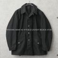 実物 USED スウェーデン軍 M-59 フィールドジャケット BLACK染め【キャンペーン対象外】 軍服 ミリタリージャケット