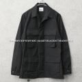 実物 新品 デッドストック 米軍 ブラック リップストップジャケット BLACK357【キャンペーン対象外】 軍服 ミリタリーファッション