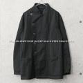 実物 新品 デッドストック イタリア軍 コックジャケット BLACK染め【キャンペーン対象外】 軍服 ミリタリーファッション
