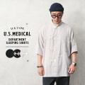 新品 復刻 米軍 U.S.MEDICAL DEPERTMENT 半袖 スリーピングシャツ ミリタリーファッション【T】