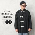 新品 復刻 米軍 U.S.MEDICAL DEPERTMENT スリーピングシャツ ミリタリーファッション【T】