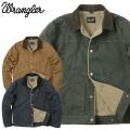 Wrangler ラングラー WM1871 BROKEN-TWILL STORY ショートボアジャケット ダック フリース ワークジャケット