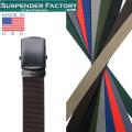 ☆20%OFF割引中☆【即日出荷対応】SUSPENDER FACTORY サスペンダーファクトリー YF110 ナイロンベルト ブラックバックル MADE IN USA
