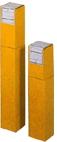 ノックダウン角筒 KF 745 7cm×7cm×45cm ワンタッチ式角筒