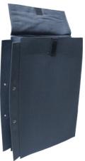 布図面袋 A4 2穴3cm マジック付 MM-A43S ハトメなし