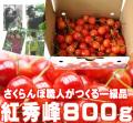 さくらんぼ(紅秀峰)800g