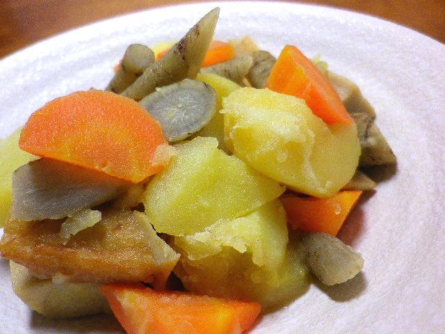 根菜たっぷり炒め煮