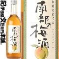 和歌のめぐみ南部の梅酒 720ml世界一統【和歌山県産】【果実酒】