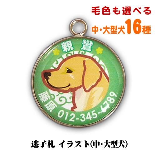 迷子札 大型犬