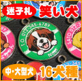 迷子札 笑い犬(中・大型犬)