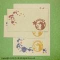 柴犬グッズ 柴犬と桜レターセット
