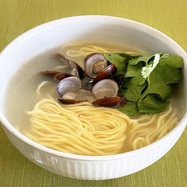 しじみ貝入り北海道小麦麺(4食入り)