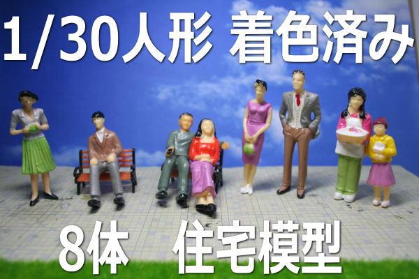 1/30 人形 ミニチュア 住宅模型 展示