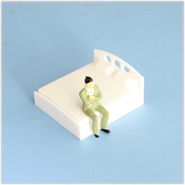 模型ベッド