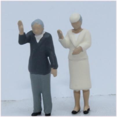 天皇陛下模型
