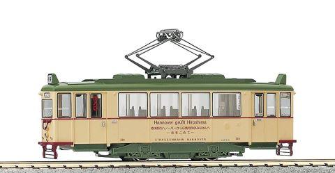 KATO カトー 広島電鉄200形ハノーバー電車  1-421    【HOゲージ】【鉄道模型】【車両】