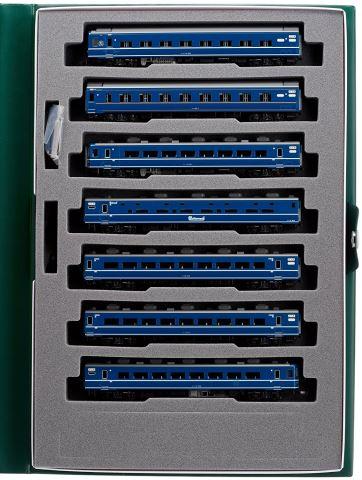 KATO カトー寝台急行〈はまなす〉基本(7両)  10-1138    【Nゲージ】【鉄道模型】【車両】【セット品】