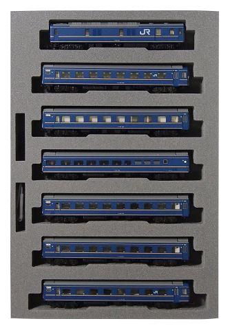 KATO カトー 24系寝台特急<あさかぜ>(金帯) 基本(7両)  10-1177【Nゲージ】【鉄道模型】【車両】【セット品】