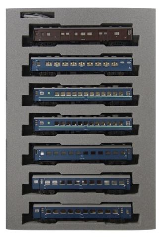 KATO カトー 10系寝台急行<日南3号>基本(7両)  10-1198【Nゲージ】【鉄道模型】【車両】【セット品】