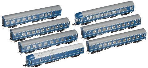 KATO カトー20系寝台特急「日本海」基本(7両)  10-1352    【Nゲージ】【鉄道模型】【車両】【セット品】