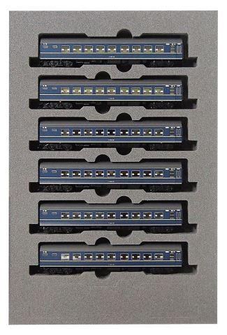 KATO カトー20系寝台客車 ナハネ20 増結(6両)  10-1353    【Nゲージ】【鉄道模型】【車両】【セット品】
