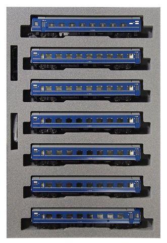 KATO カトー14系15形寝台特急あかつき長崎編成(7両)  10-1360    【Nゲージ】【鉄道模型】【車両】【セット品】
