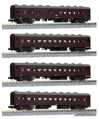 KATO カトー オハ61系客車(4両) 【特別企画品】  10-1370【Nゲージ】【鉄道模型】【車両】【セット品】