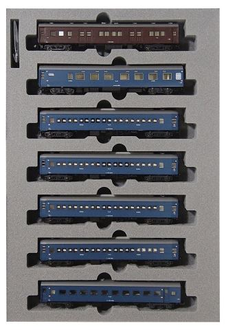 KATO カトー寝台急行「つるぎ」 基本(7両)  10-1387    【Nゲージ】【鉄道模型】【車両】【セット品】