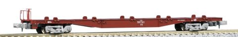 KATO カトーコキ50000(グレー台車)コンテナ無積載(2両)  10-1393    【Nゲージ】【鉄道模型】【車両】【セット品】